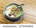 refreshing chendol with large... | Shutterstock . vector #1176442810