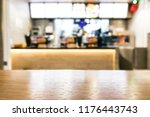 table foreground with blurred... | Shutterstock . vector #1176443743