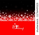 christmas background with... | Shutterstock .eps vector #1176449323