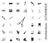 surgical scissors icon.... | Shutterstock .eps vector #1176458419