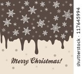 christmas background with... | Shutterstock .eps vector #117645994