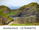 view of the coast at giant's... | Shutterstock . vector #1176466276
