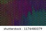 small bright circles on a dark... | Shutterstock .eps vector #1176480379