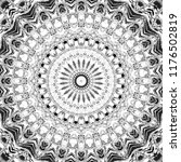 black and white pattern for... | Shutterstock . vector #1176502819