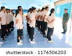 photo of thai teenage students... | Shutterstock . vector #1176506203