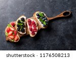 brushetta or traditional... | Shutterstock . vector #1176508213