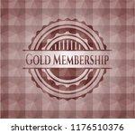 gold membership red seamless... | Shutterstock .eps vector #1176510376