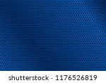 blue metal perforated... | Shutterstock .eps vector #1176526819