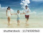 happy asian family   father ... | Shutterstock . vector #1176530563