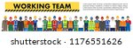 group of worker  builder and... | Shutterstock .eps vector #1176551626