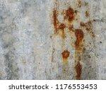 steel walkway mats sprayed red... | Shutterstock . vector #1176553453