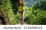 young woman trail runner...   Shutterstock . vector #1176558133