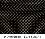mesh fence background.grid iron ... | Shutterstock . vector #1176560146