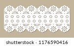 cotton lace for fashion ... | Shutterstock .eps vector #1176590416