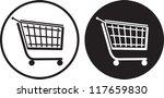 shopping cart   Shutterstock .eps vector #117659830