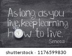 as long as you live  keep... | Shutterstock . vector #1176599830