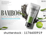 Bamboo Charcoal Face Wash Ads...