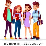 back to college concept | Shutterstock .eps vector #1176601729