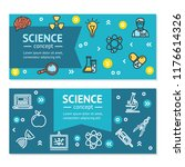 science research horizontal... | Shutterstock . vector #1176614326