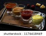 set of various sauces   Shutterstock . vector #1176618469