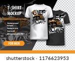 t shirt template  fully...   Shutterstock .eps vector #1176623953