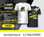 t shirt template  fully...   Shutterstock .eps vector #1176623980