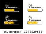 loading bar bulb lamps lamp... | Shutterstock .eps vector #1176629653