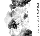 lines and imprints orchids mix... | Shutterstock . vector #1176655249