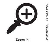 zoom in icon vector isolated on ...   Shutterstock .eps vector #1176655903