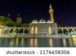 night long exposure view of... | Shutterstock . vector #1176658306