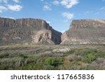Santa Elena Canyon At Big Bend