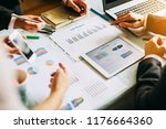 businessman investment... | Shutterstock . vector #1176664360
