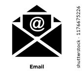 email icon vector isolated on... | Shutterstock .eps vector #1176675226