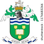 coat of arms of south tyneside... | Shutterstock .eps vector #1176683266