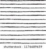 hand drawn black heavy lines... | Shutterstock .eps vector #1176689659