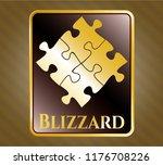 golden badge with solution...   Shutterstock .eps vector #1176708226