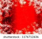 snowflake background design | Shutterstock . vector #1176712636