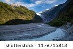 landscape of franz josef...   Shutterstock . vector #1176715813