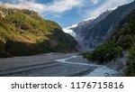 landscape of franz josef...   Shutterstock . vector #1176715816
