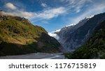 landscape of franz josef...   Shutterstock . vector #1176715819