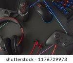 e sport concept  top view a... | Shutterstock . vector #1176729973
