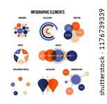 ads report visualisation... | Shutterstock .eps vector #1176739339