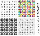 100 insurance icons set in 4... | Shutterstock . vector #1176744823