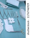 surgical instruments and tools...   Shutterstock . vector #1176746929