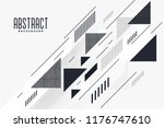 modern abstract triangle and... | Shutterstock .eps vector #1176747610
