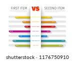 product   service comparison... | Shutterstock .eps vector #1176750910