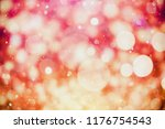 colorful circles of light... | Shutterstock . vector #1176754543
