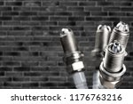 ignition spark plug with... | Shutterstock . vector #1176763216