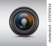 camera photo lens  vector... | Shutterstock .eps vector #1176765616