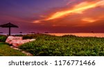 landscape of an angle from the... | Shutterstock . vector #1176771466